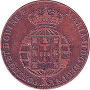 ½ Macuta - Maria II (Colonie portugaise) – avers