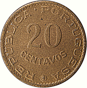 20 Centavos (Colonie portugaise) – revers