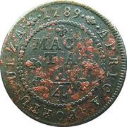 ¼ macuta - Maria I (Colonie portugaise) – revers