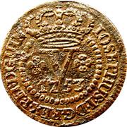 5 Reis - José I (Colonie portugaise) – avers