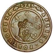 2 Macutas (Monnaie contremarquée) – revers