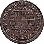 40 Reis - João Prince régent (contremarquée) – revers