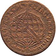 10 Reis - José I (Colonie portugaise) – revers