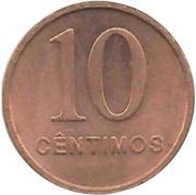 10 centimos – revers