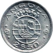 2½ Escudos (Colonie portugaise) – avers