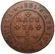 ½ Macuta - Miguel I (Essai) – revers