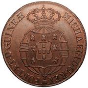 1 Macuta - Miguel I (Essai) – avers