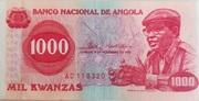 1000 Kwanzas -  avers