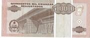 500 000 Kwanzas reajustados -  revers