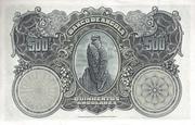 500 Angolares – revers