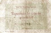 200 Réis (Bronze) – revers