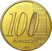 100 Kwanzas (Indépendance) – avers