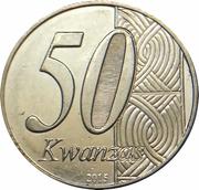 50 Kwanzas (Indépendance) -  avers