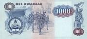 1 000 Kwanzas – revers
