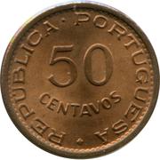 50 Centavos (Colonie portugaise) -  revers