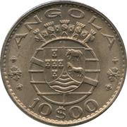 10 Escudos (Colonie portugaise) -  avers