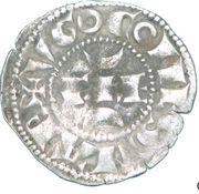 Denier - Hugues X (1208-1249) – avers
