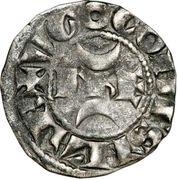Denier- Hugues X (1208-1249) – avers