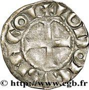 Denier- Hugues X (1208-1249) – revers