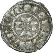 Obole  - Hugues X (1208-1249) – avers