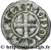 Obole  - Hugues X (1208-1249) – revers
