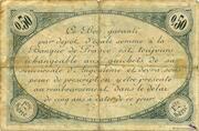 50 centimes - Chambre de commerce d'Angoulème [16] <1ère série> – revers