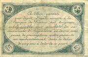 50 centimes - Chambre de commerce d'Angoulème [16] <2ème série> – revers