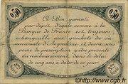 50 centimes - Chambre de commerce d'Angoulème [16] <3ème série> – revers
