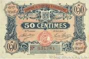 50 centimes - Chambre de commerce d'Angoulème [16] <6ème série> – avers