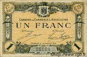 1 franc - Chambre de commerce d'Angoulème [16] <1ère série> – avers