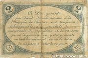 2 francs - Chambre de Commerce d'Angoulême [16] <2ème série> – revers