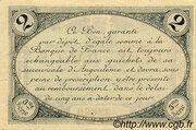 2 francs - Chambre de Commerce d'Angoulême [16] <3ème série> – revers