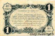 1 franc - Chambre de commerce d'Angoulème [16] <5ème série> – revers