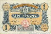 1 franc - Chambre de commerce d'Angoulème [16] <6ème série> – avers