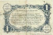 1 franc - Chambre de commerce d'Angoulème [16] <6ème série> – revers