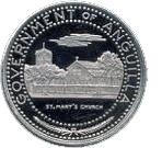 ½ dollar - Elizabeth II (Église de St Marie) – avers