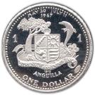 1 dollar - Elizabeth II (Église de St Marie) – revers