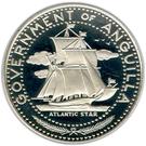 4 dollars - Elizabeth II (bateau étoile de l'atlantique) – avers