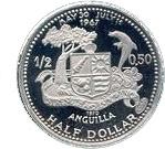 ½ dollar - Elizabeth II (Église de St Marie) – revers