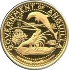 10 dollars - Elizabeth II (la vie sous marine des Caraibes) – avers