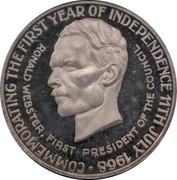 25 Dollars - Elizabeth II (Indépendance) – revers
