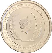 2 dollars - Elizabeth II (Homard) – avers