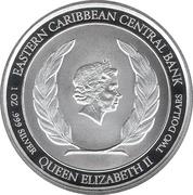 2 dollars - Elizabeth II (Armoiries) -  avers