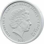 1 Dollar - Elizabeth II (CeCo gecko) – avers
