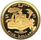 5 dollars - Elizabeth II (Église méthodiste) – revers