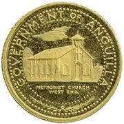 5 Dollars - Elizabeth II (Methodist Church; Trial Strike) -  avers