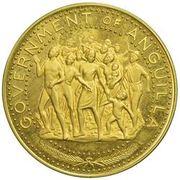 100 Dollars - Elizabeth II (Demonstrating Population; Trial Strike) – avers