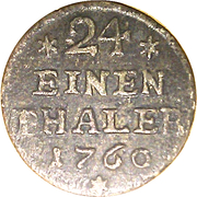 1/24 Thaler - Viktor II Friedrich – revers