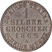 1 Silbergroschen - Alexander Carl – revers