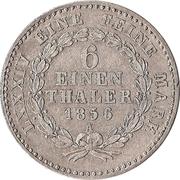⅙ Thaler - Alexander Carl – revers